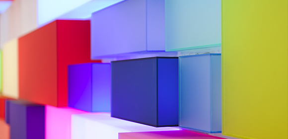 Perspex acrylicize colour wall